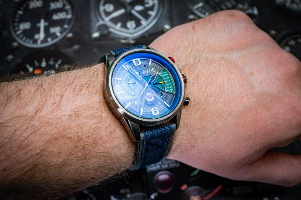Cockpit Uhr Instrumententafel AVI-8