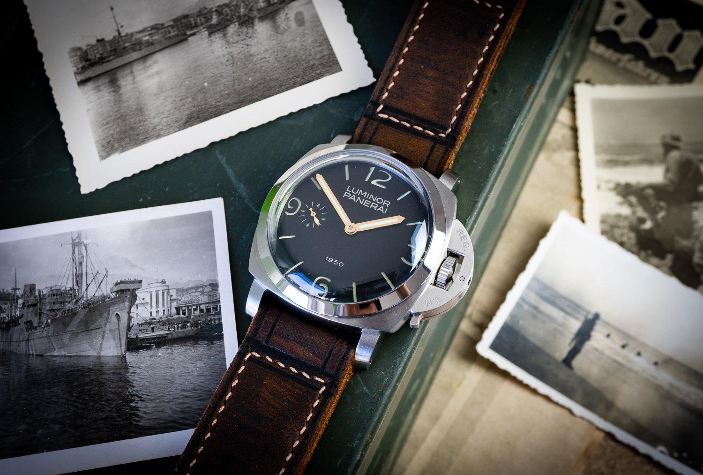 Panerai-Armband-Lederband-Uhrenband-Vintage-Retro-weich