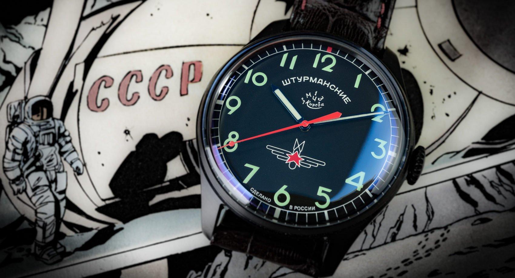 Read more about the article Russische Uhren damals und heute