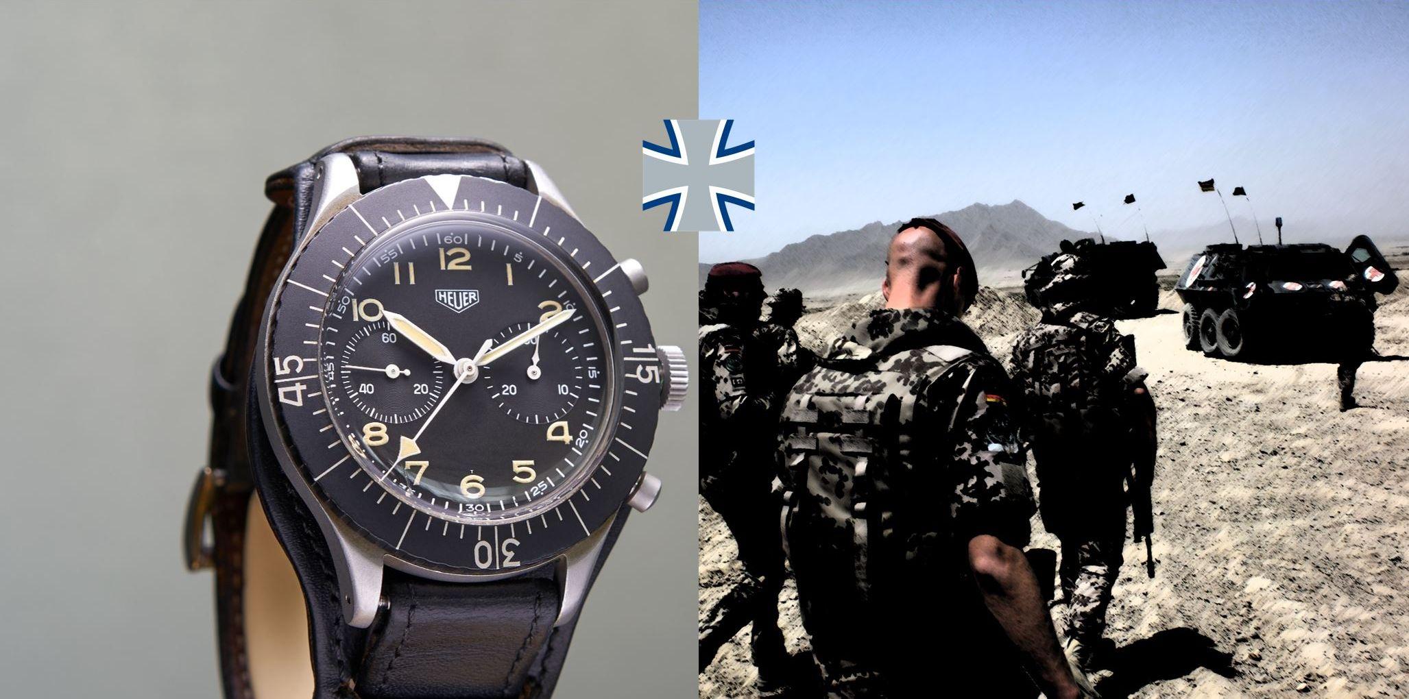Read more about the article Bundeswehr Uhren: Historische Klassiker und aktuelle Armbanduhren deutscher Soldaten und Offiziere
