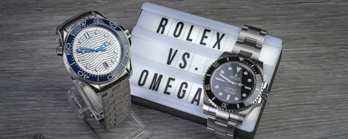 Rolex Submariner vs. Omega Seamaster Diver 300m