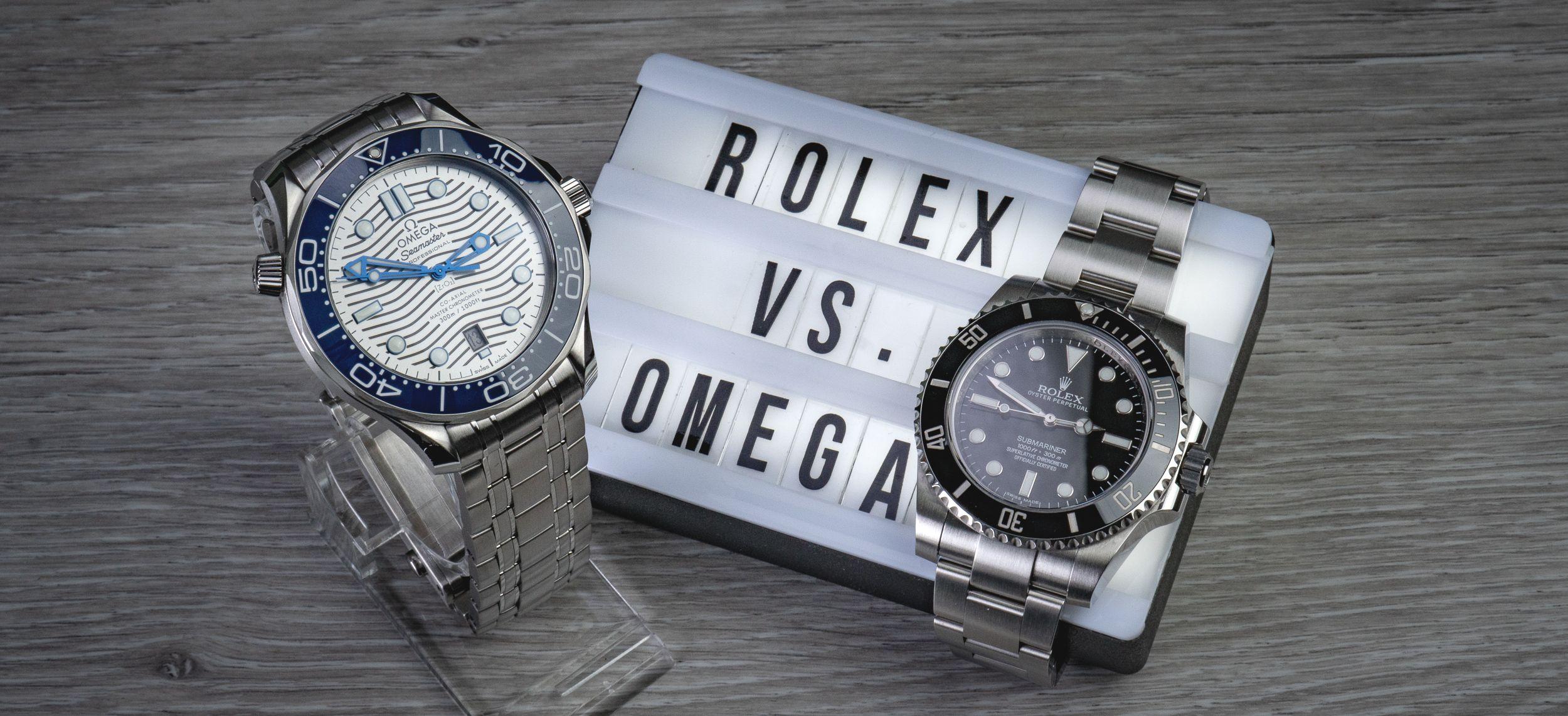 Read more about the article Duell der Taucheruhren-Klassiker: Rolex Submariner vs. Omega Seamaster Diver 300m (2019 / 2020)