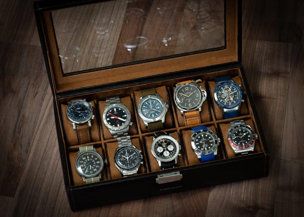 Uhrenbox Rolex Tudor TAG Heuer Glashütte Panerai