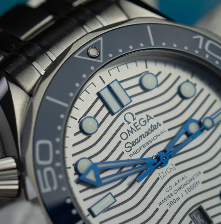 Wellen Zifferblatt Omega Seamaster Diver 300m