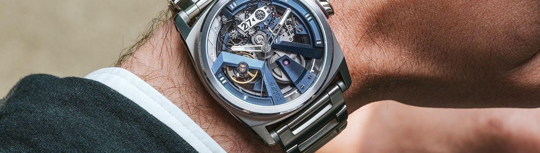Blue Grey X41 Code41 Uhr 2019