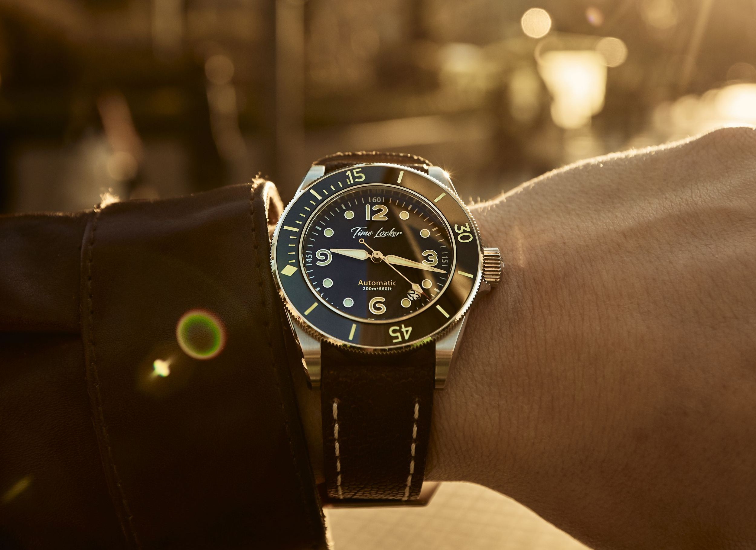 Read more about the article Time Locker: Neue französische Micro-Brand mit 50er Jahre Kampftaucher-Uhr