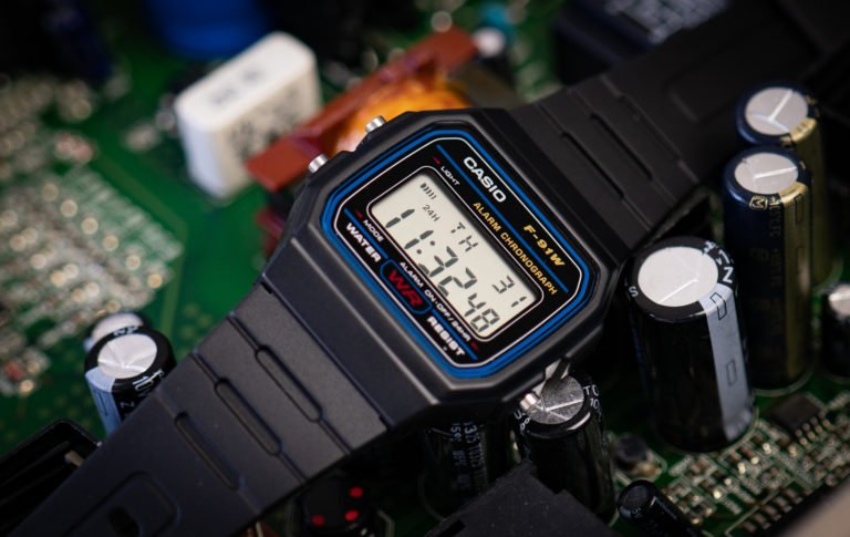 Casio F-91W Test