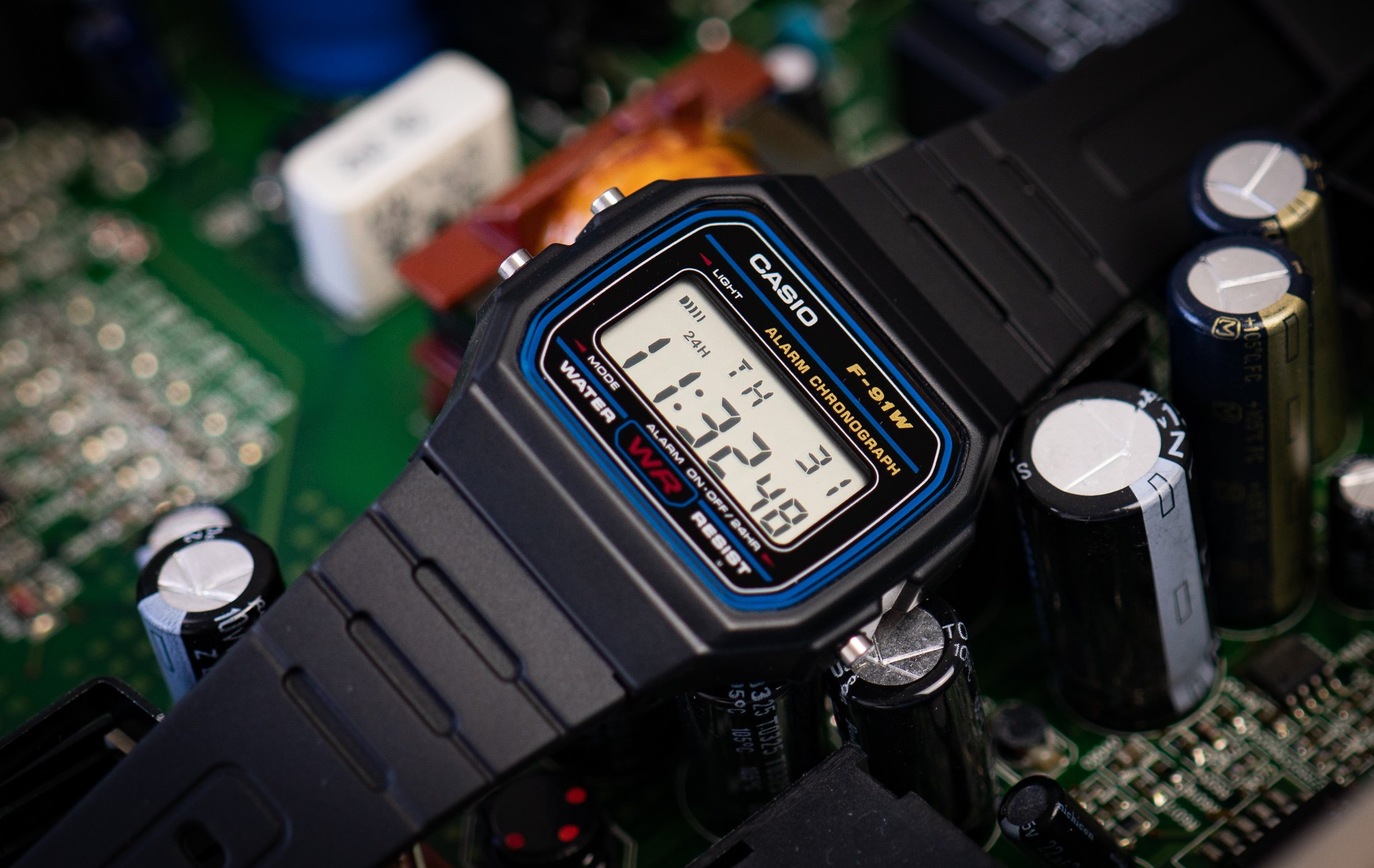 Read more about the article Casio F91W: Test der Kult-Digitaluhr