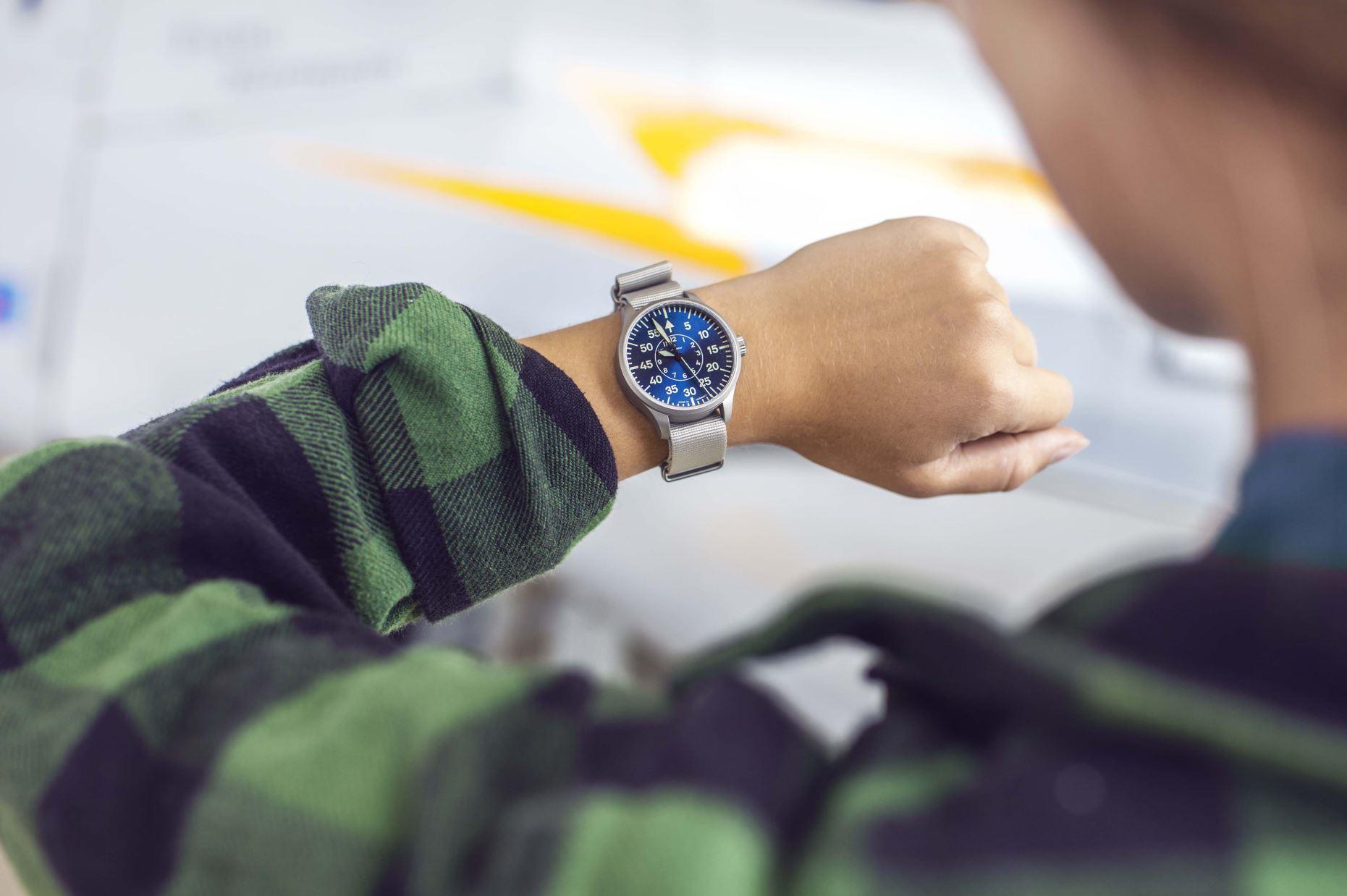 Laco-Blaue-Stunde-Handgelenk-Größe