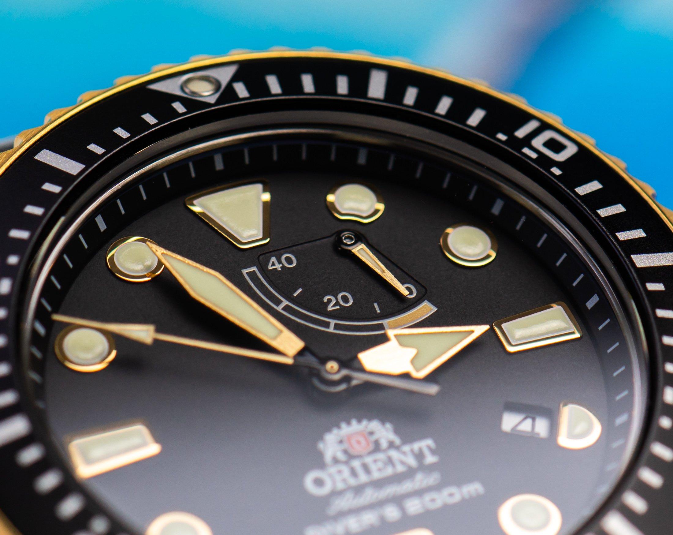 Orient-Triton-Automatik-Taucher-Uhr-Gangreserveanzeige