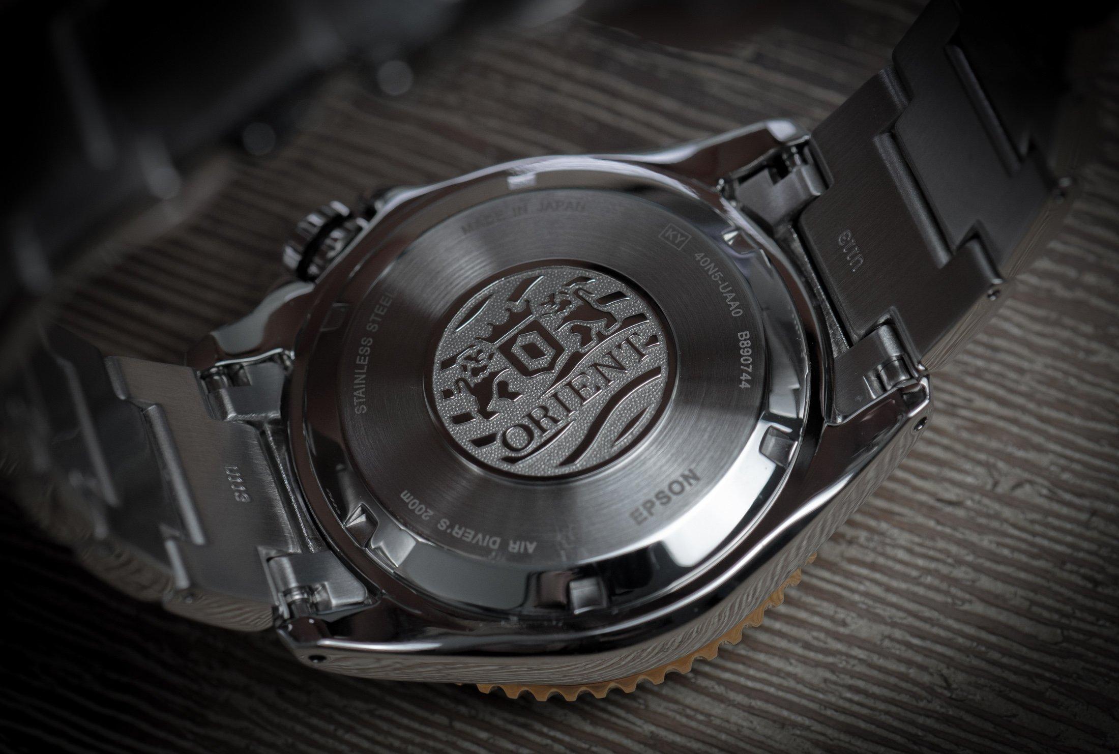 Orient Triton Seiko Epson Diver Automatic