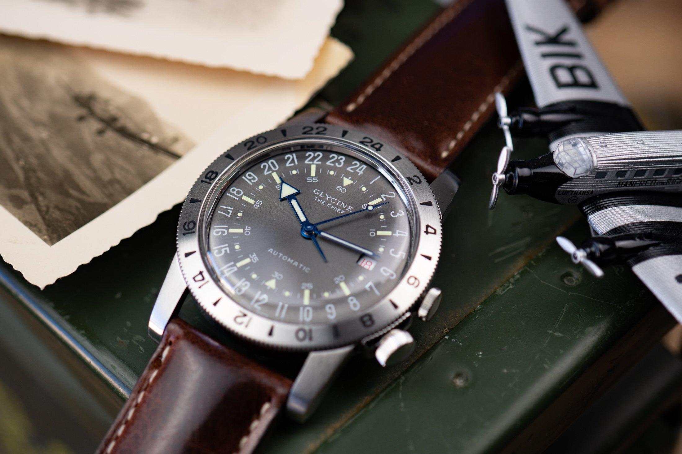 Glycine-Airman-GMT-Uhr-24-Stunden
