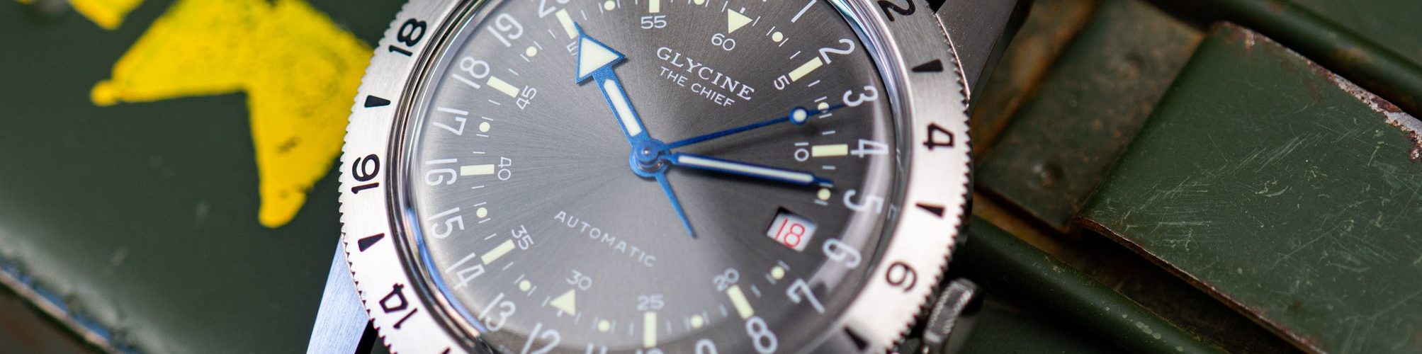 Glycine Airman Retro-Fliegeruhr Swiss Made Test Erfahrungen