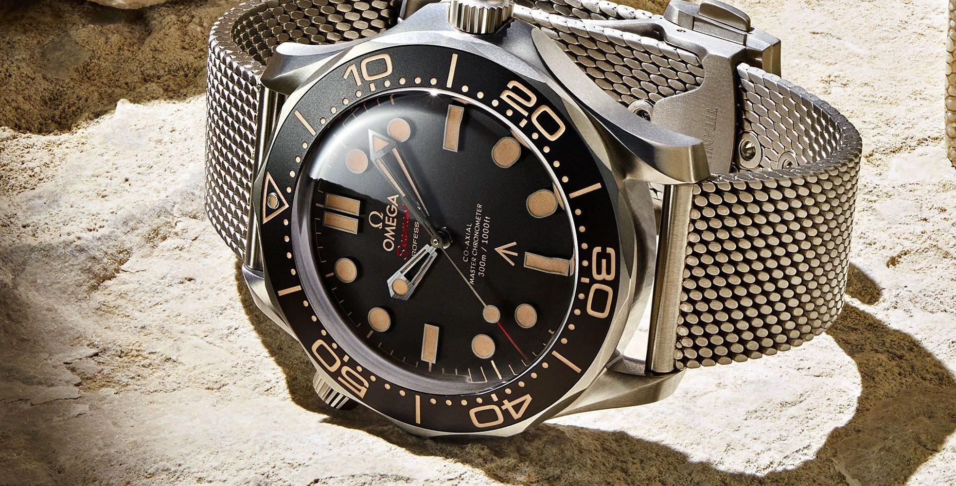 Omega Seamaster 300m in James Bond 007