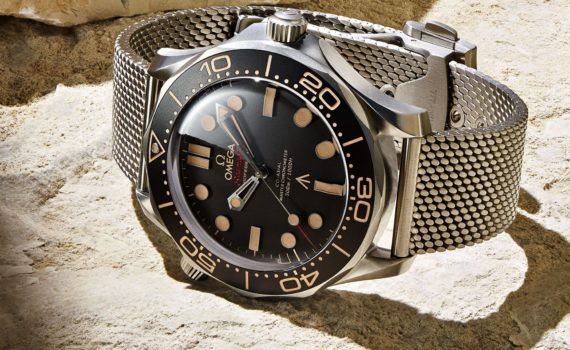 Omega Seamaster Uhr James Bond 007 keine Zeit zu sterben no time to die (2)