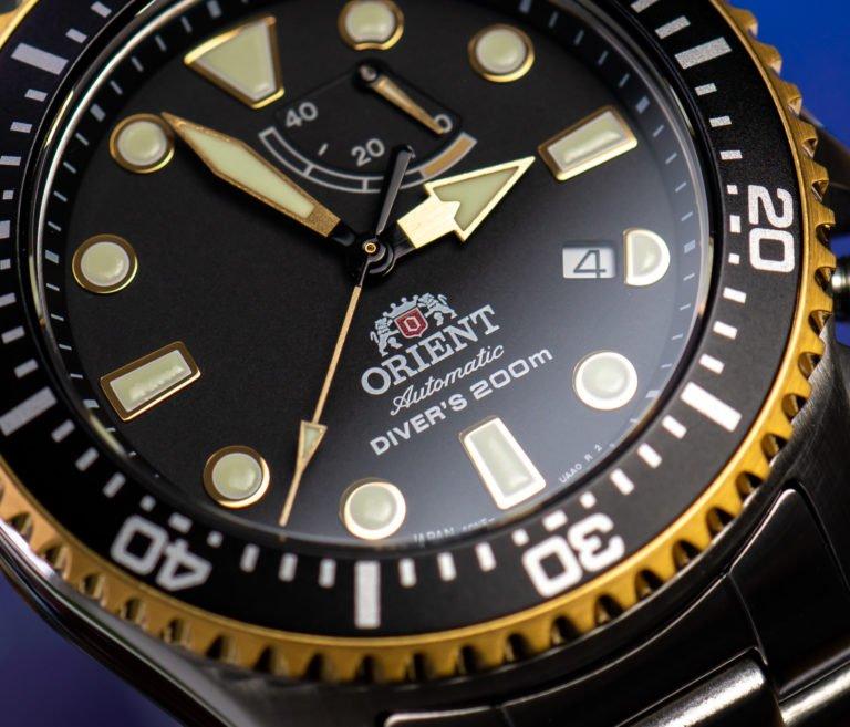 Orient Uhren Erfahrungen Test Triton Diver