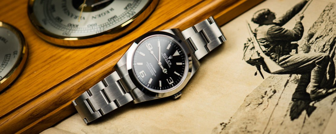 Rolex Explorer 1 Test Review Geschichte