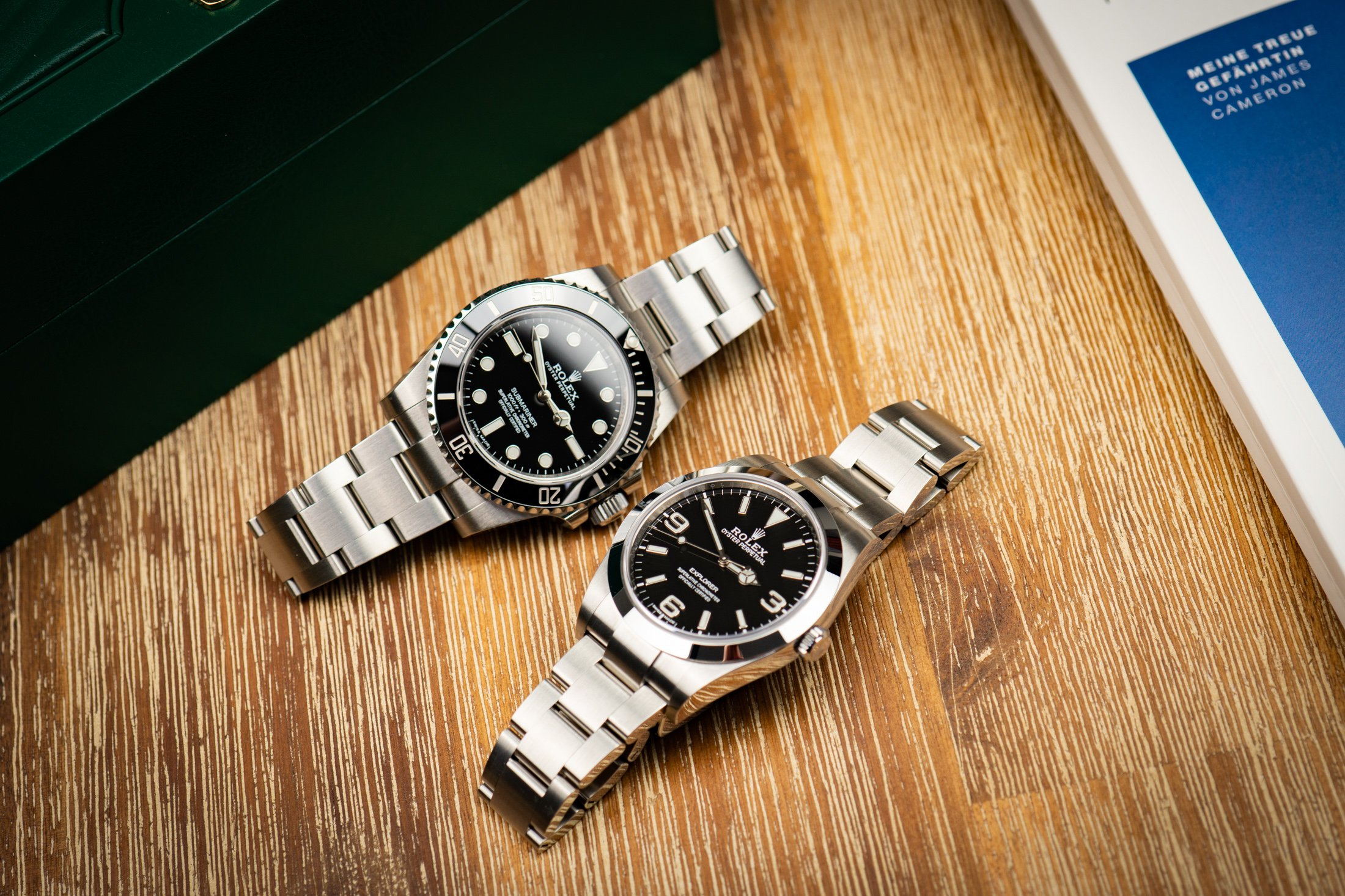 Rolex-Explorer-1-vs-Submariner