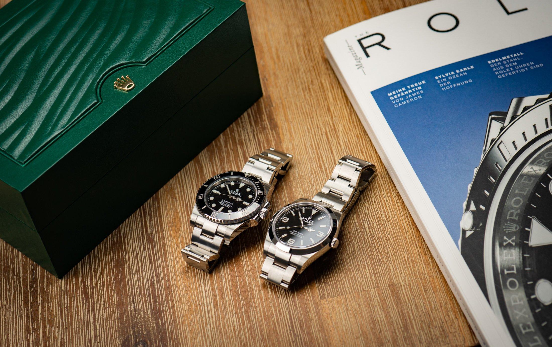Rolex-Explorer-I-vs.-Submariner-Test