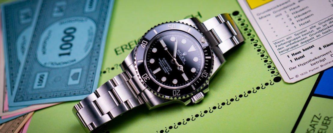 Rolex Investition Wertanlage Rendite Wertsteigerung Preis Erhöhung