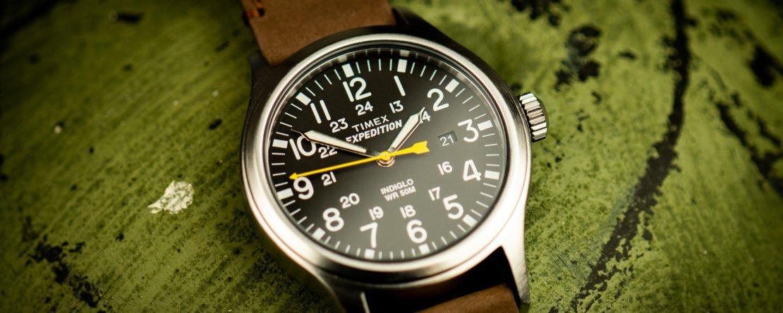 Timex Expedition Scout Test Felduhr