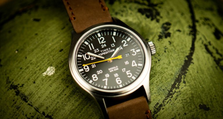 Timex Expedition Scout Test Felduhr