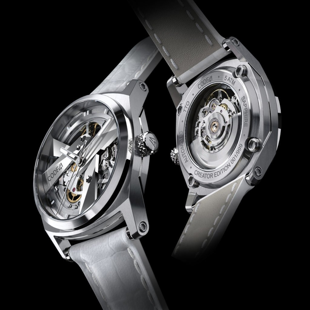 CODE41-DAY41-Automatik-Skelettuhr-Damen-sichtbares-Uhrwerk