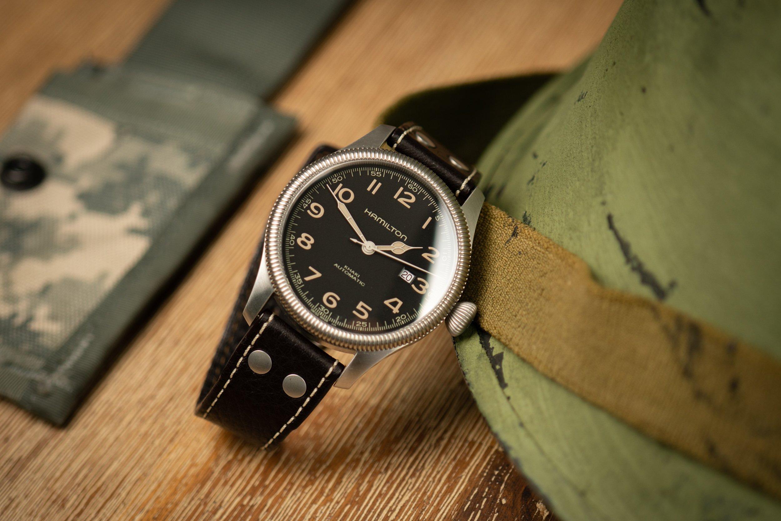 Hamilton-Khaki-Field-USA-amerikanische-Militäruhr-Field-Watch