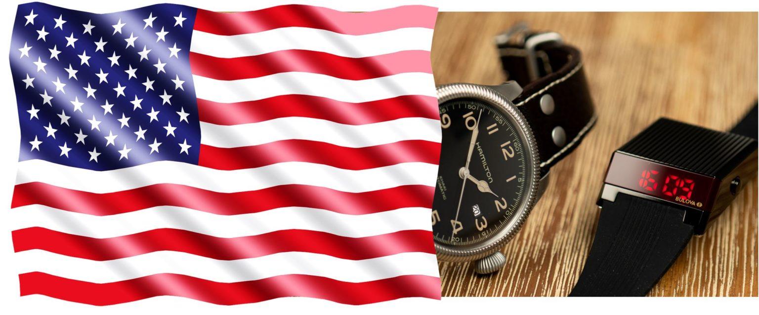 USA Amerikanische Uhren