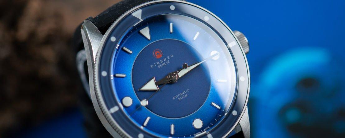 Direnzo DRZ_03 blau Hands On Erfahrungen Swiss Made