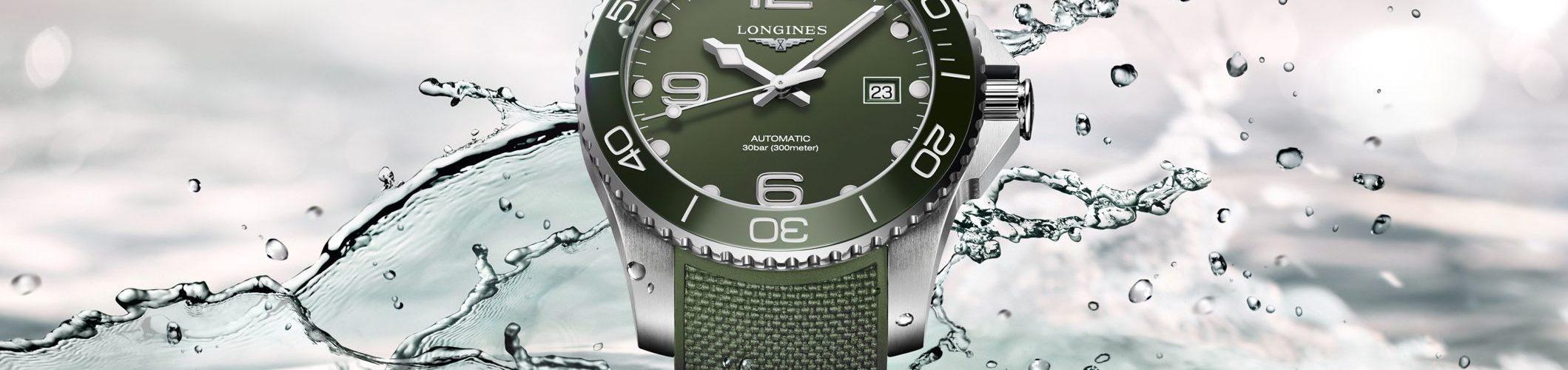 L3.781.4.06.9 Longines Hydro Conquest Grün Automatik