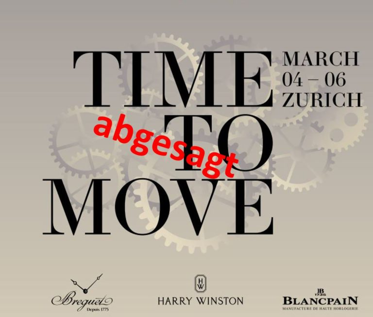 Time to Move 2020 abgesagt