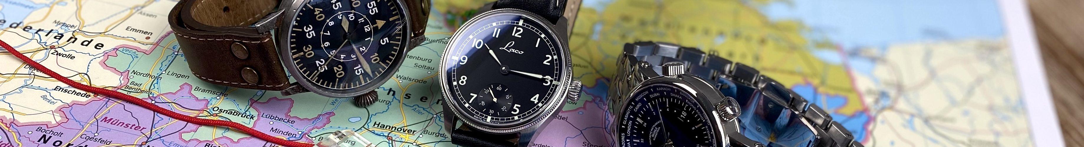 Uhren Hersteller Deutschland Karte