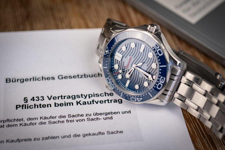 Kaufvertrag teure Luxus Uhr Vorlage pdf Word doc