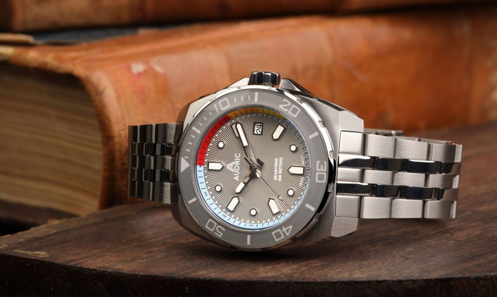 Audric Watches Seaborne 500M Kickstarter Kampagne - Head