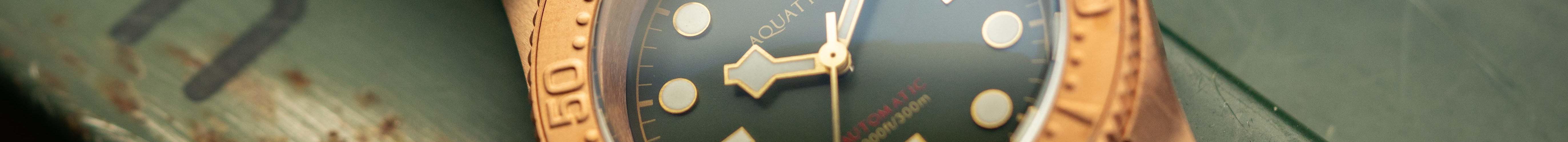 Aquatico Bronze Taucheruhr Diver Sea Star-12