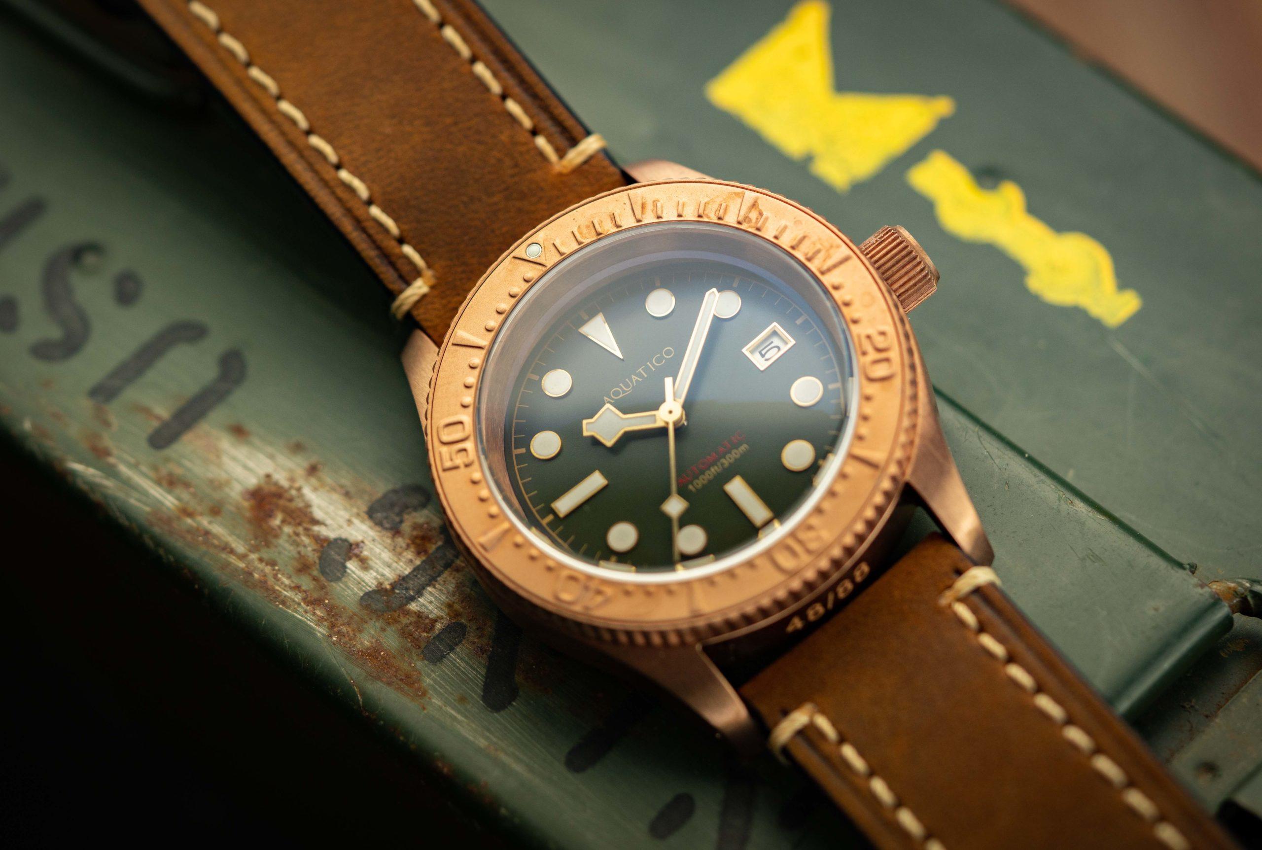 Read more about the article Bronze-Diver für den kleinen Geldbeutel: Aquatico Sea Star im Test