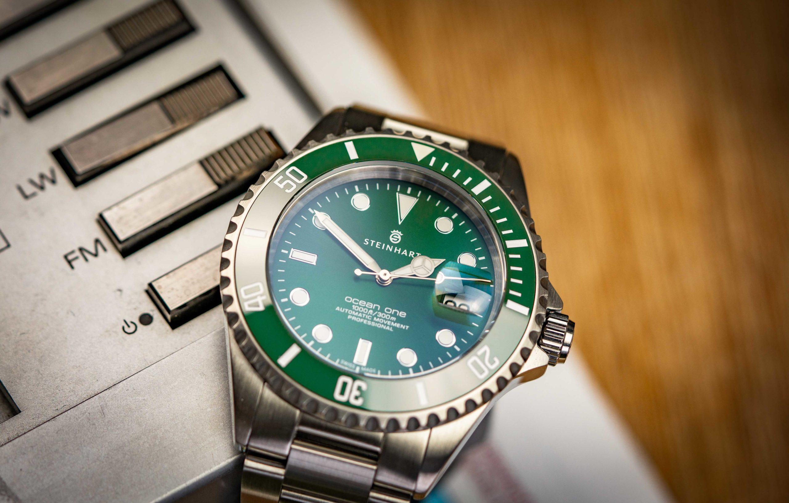 Steinhart-Uhr-Rolex-Test