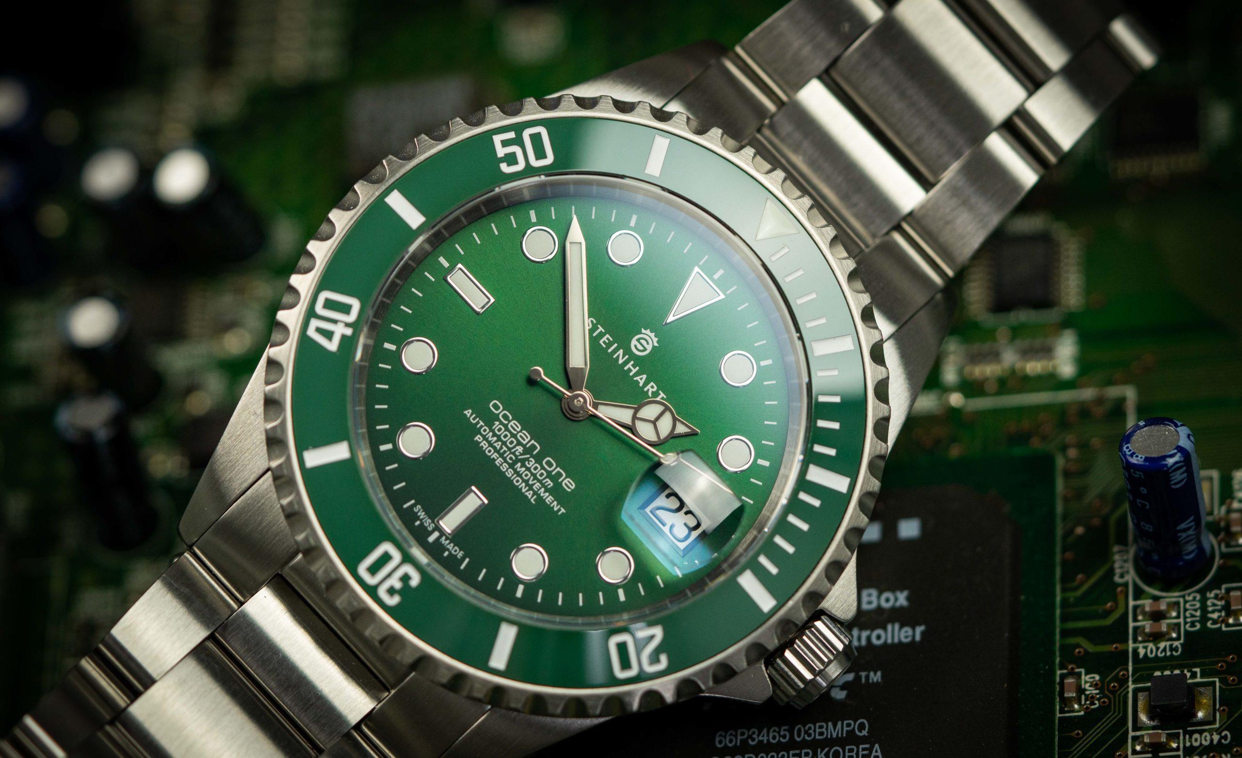 Steinhart Uhren Rolex Test
