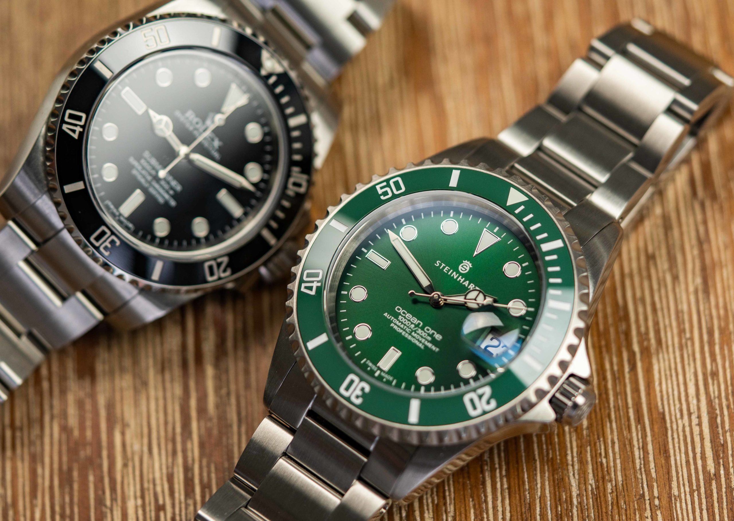 Steinhart-Uhren-vs.-Rolex