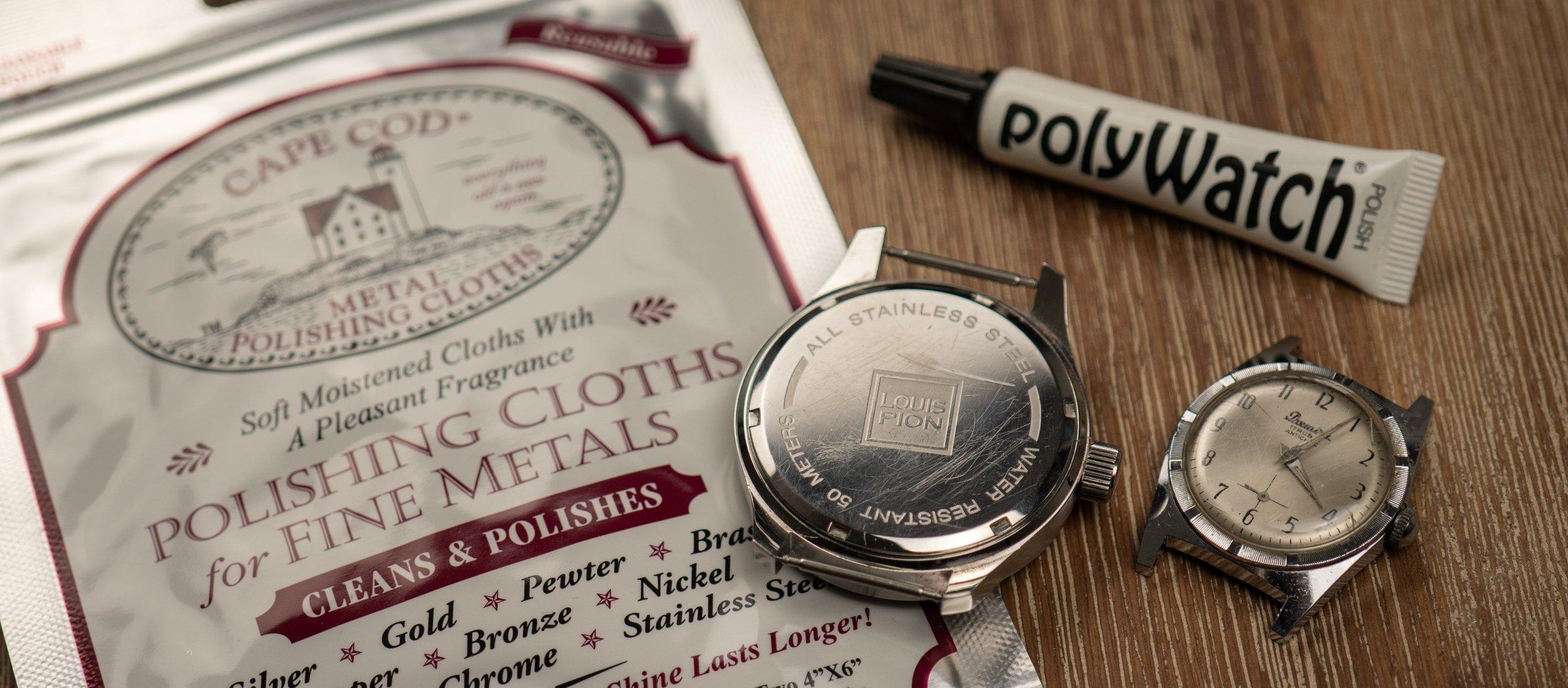 Read more about the article Uhr polieren und Kratzer entfernen für kleines Geld – was taugen Cape Cod und Polywatch?