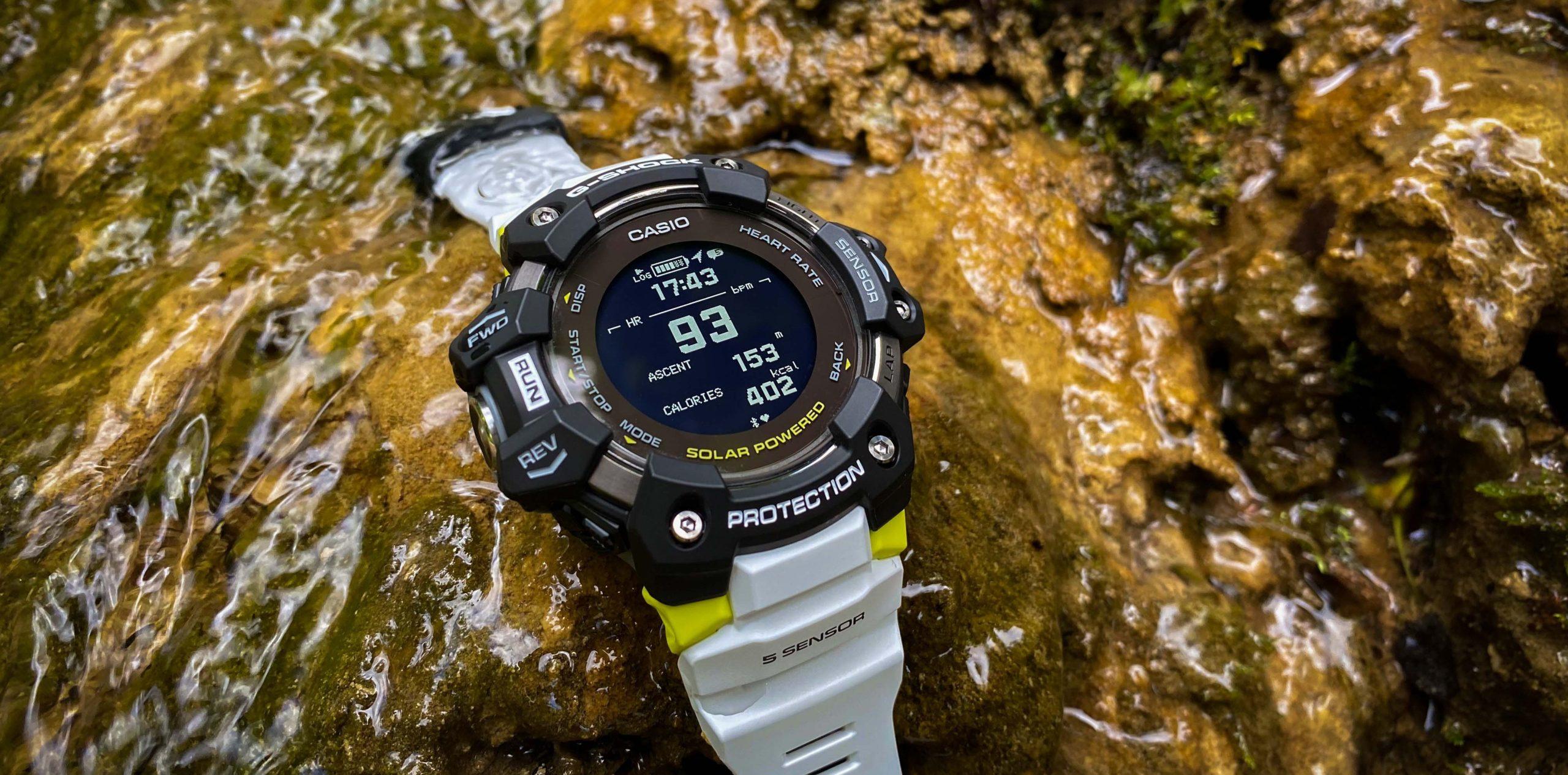 Casio G-Shock GBD-H1000 im Test – Herren-Laufuhr mit GPS, Pulsmesser, Solar & Co.
