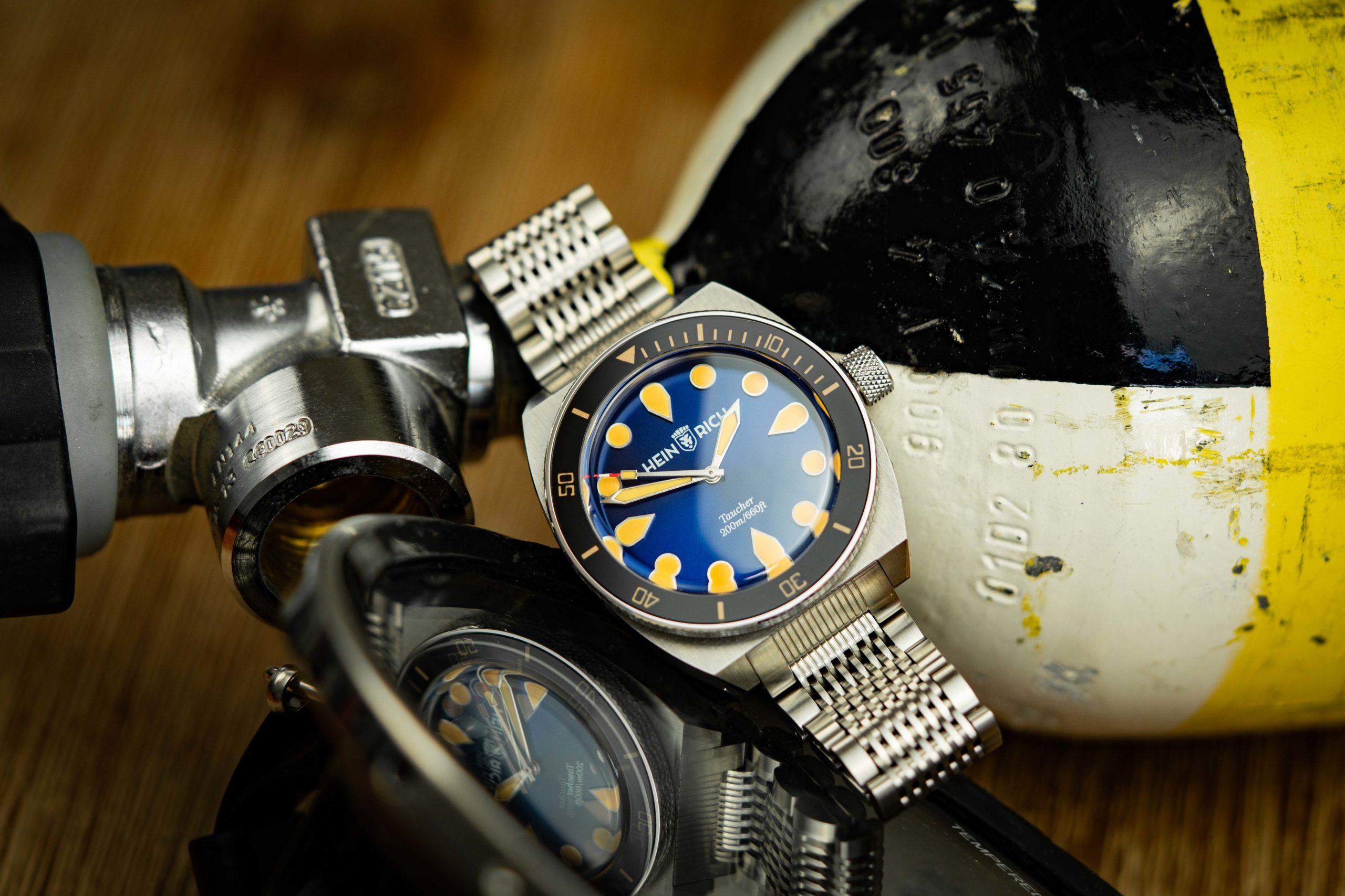 Heinrich-Watch-Taucher-Uhr-Kickstarter-Test