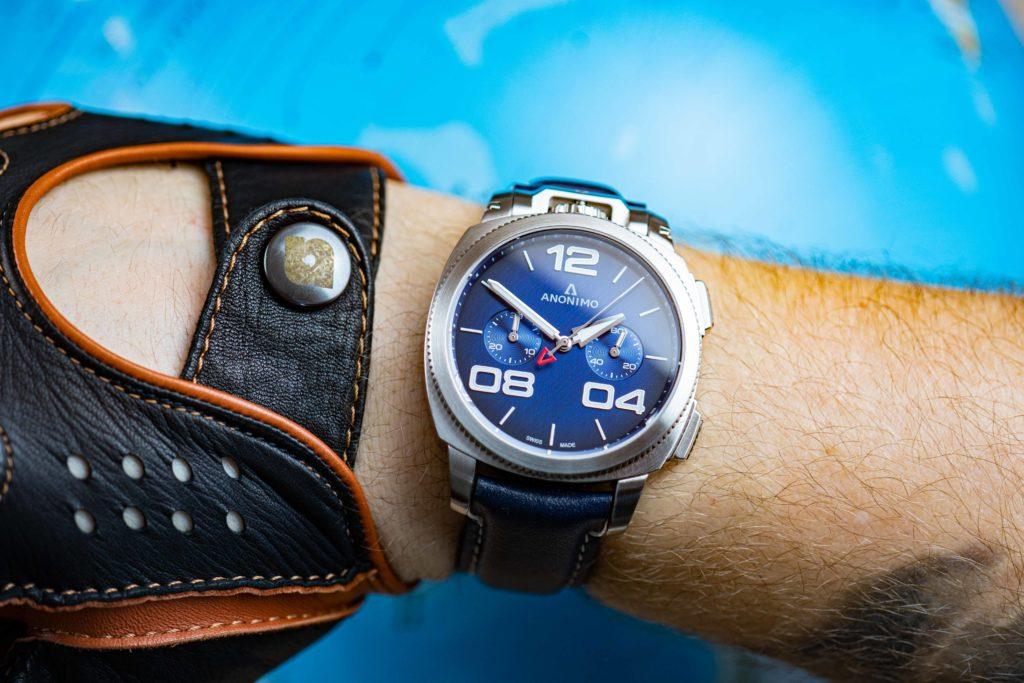 Anonimo-Uhren-Test-Militare-Uhrengröße-Handgelenkumfang