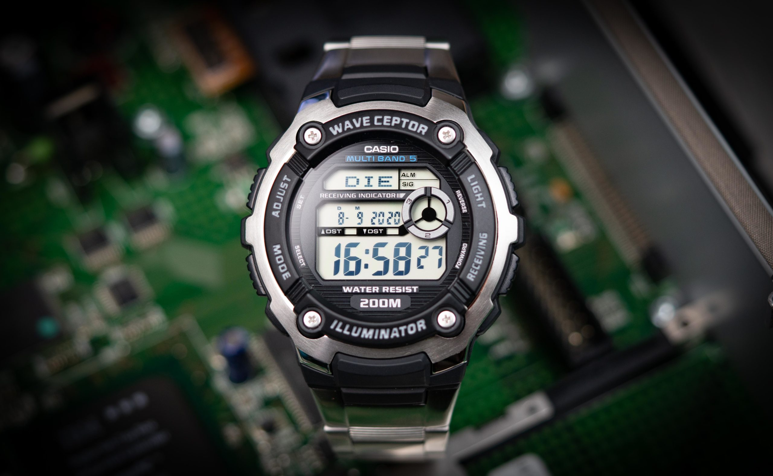 Casio Wave Ceptor Funkuhr-Test