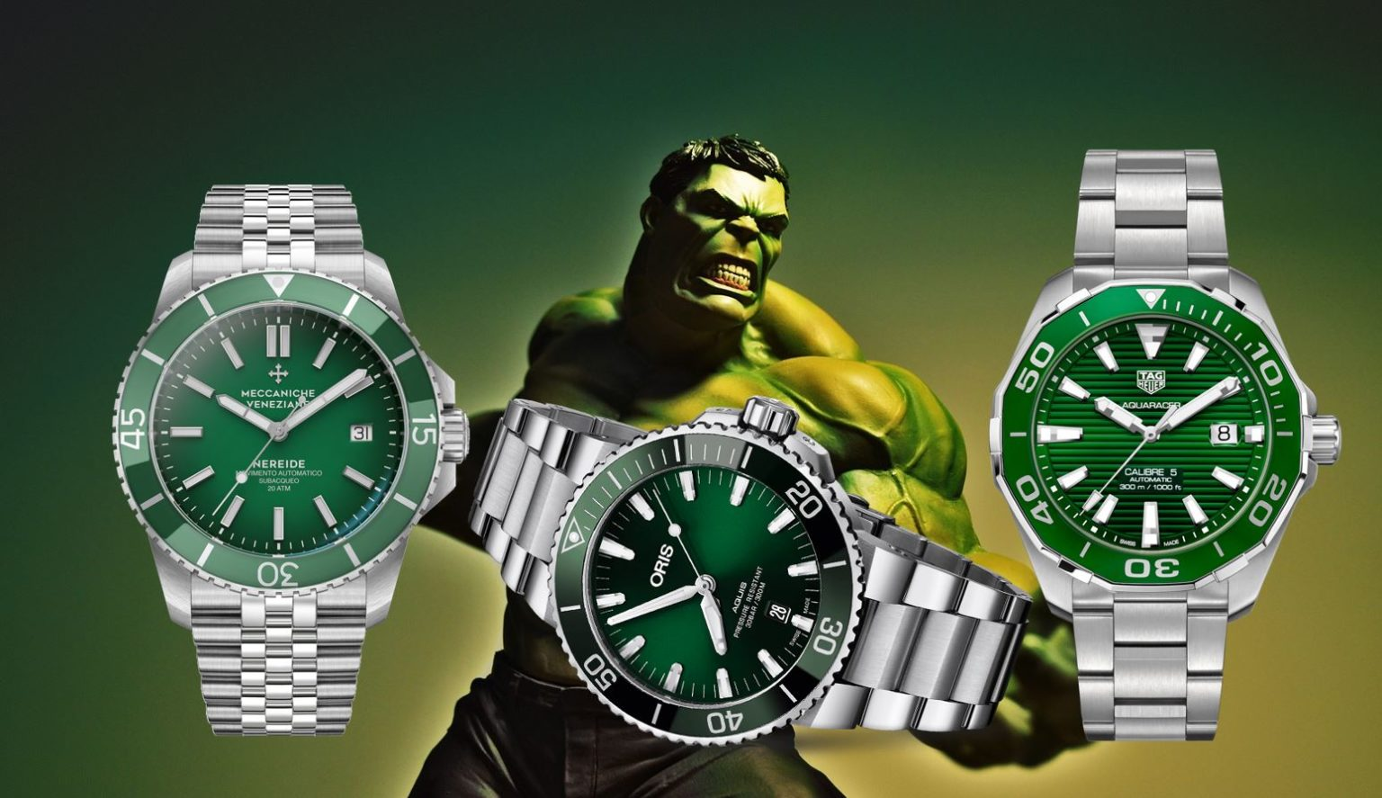 Rolex Hulk Alternativen