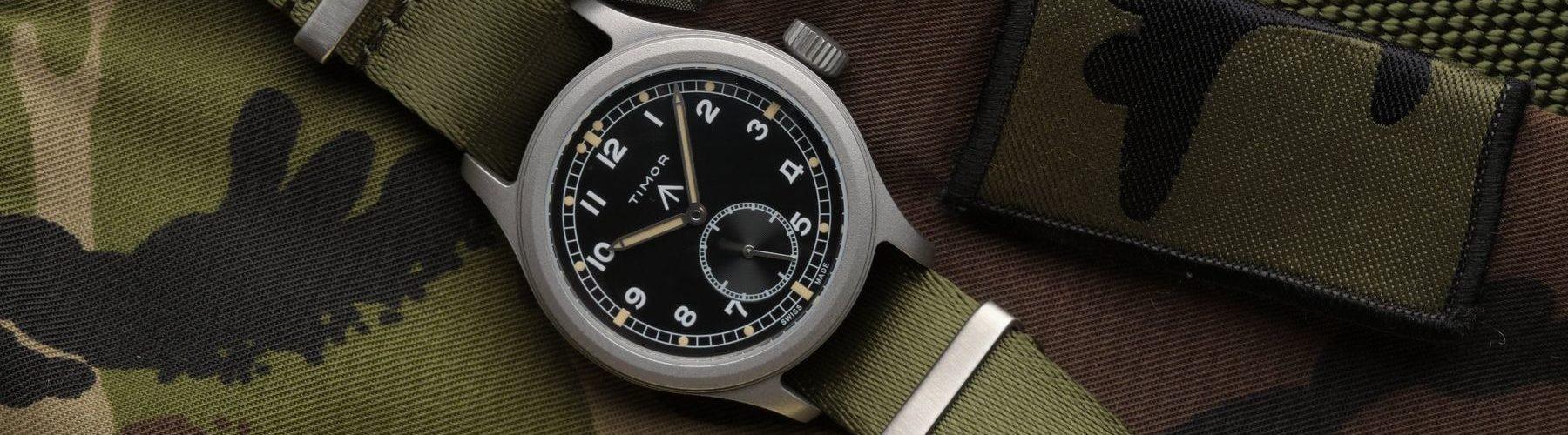 Field Watch Infranterie Uhren