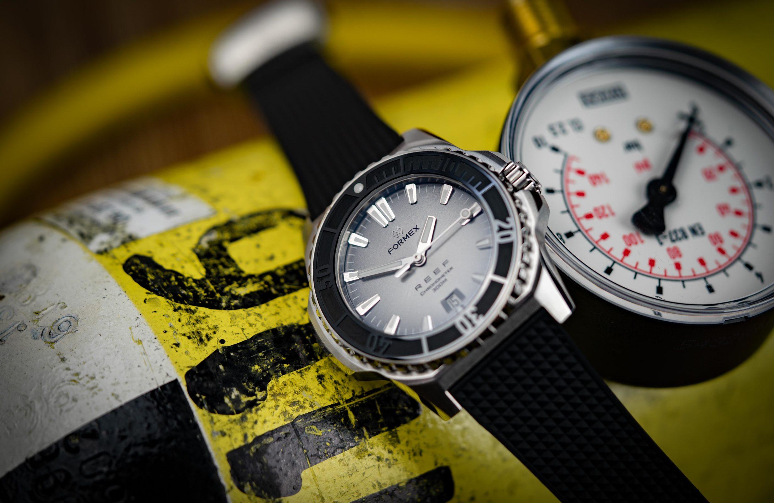 Formex-Reef-Automatik-Chronometer-300m-COSC-Diver-Test
