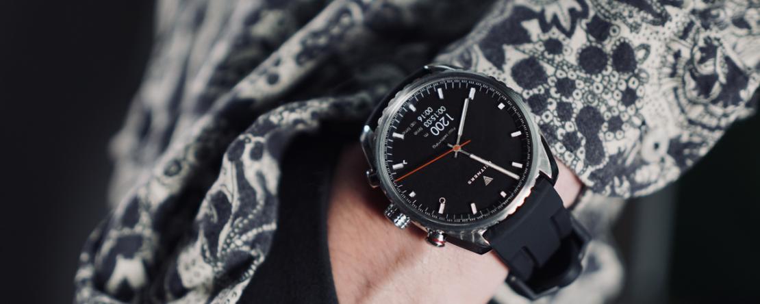 Hybrid Smartwatch Herren Leitners Ad Maiora-7