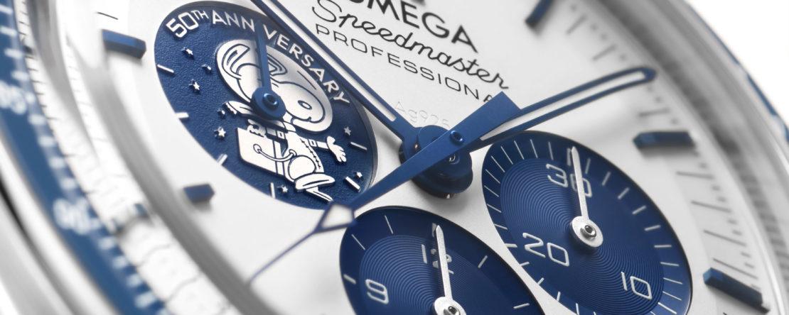 Omega Speedmaster Silver Snoopy Award 50th Anniversary 310.32.42.50.02.001
